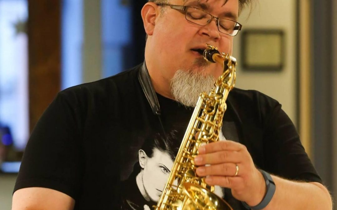 Russ Grazier, Guy from Bruce Springsteen's Band, Bill Clinton Last Sax Players on Earth
